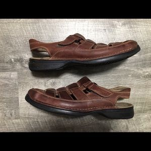 Johnston & Murphy Men's Leather Sandals